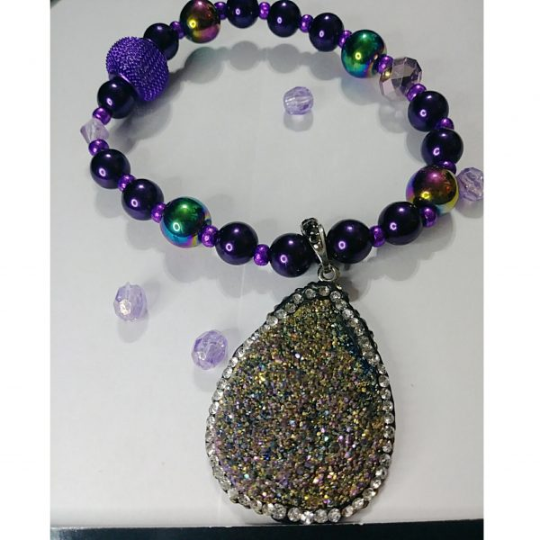 """""""Purple Majesty"""" Stone Age Collection"""