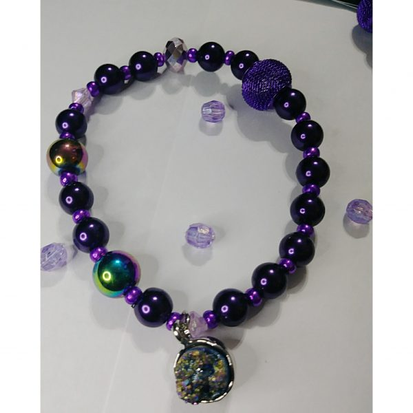 """""""Sprinkle Of Purple"""" Stone Age collection."""