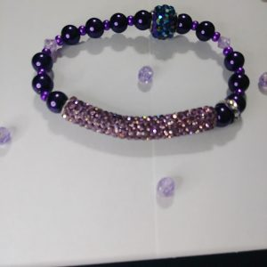 """Purple Rock Star"" Viva La Bling Collection"