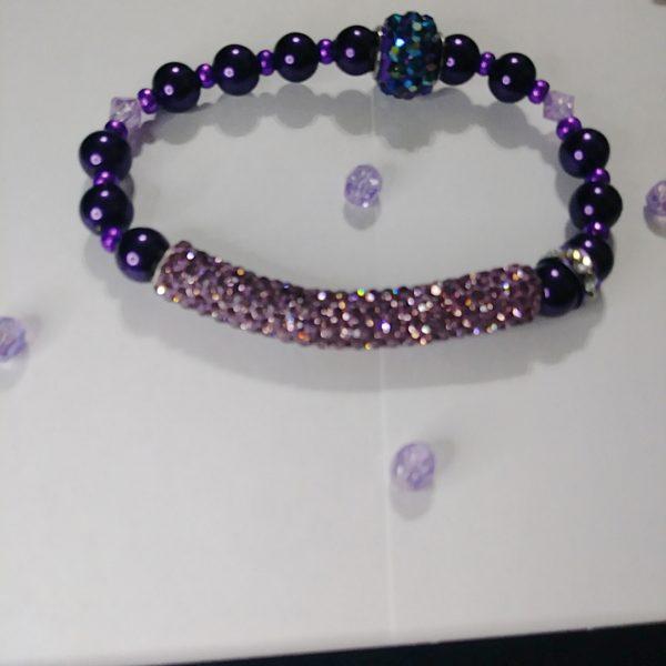 """Purple Rock Star"" Viva La Bling Collection"