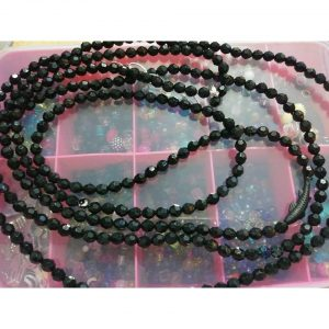 """KNIGHT RIDER"" Double set. Two sets of waist beads with two charms!"