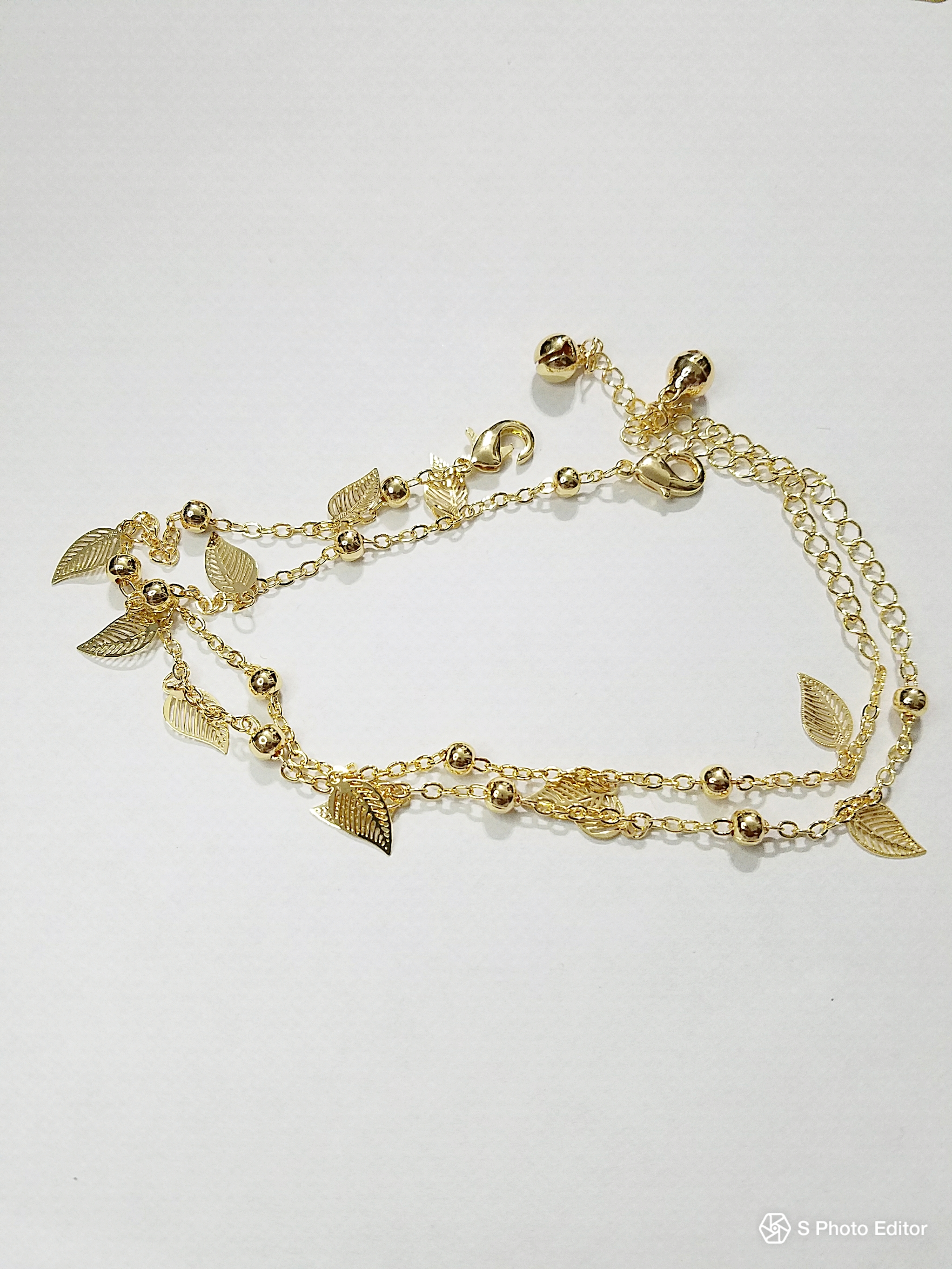 k anklet something bride womens gold for blue myshoplah