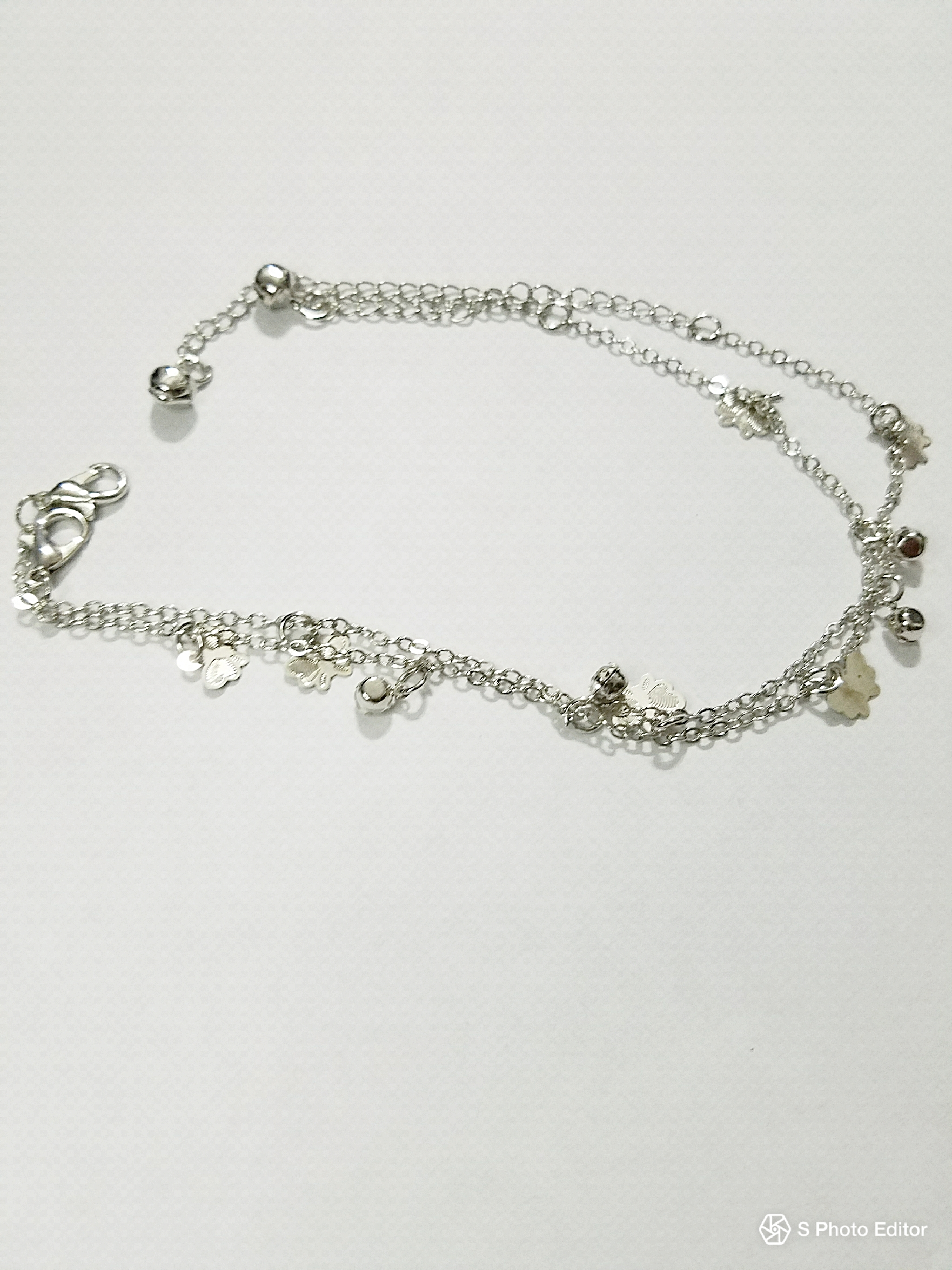 metal pearls gold silver anklet artificial product with bollywood base jewellery anklets women for stone and imitation