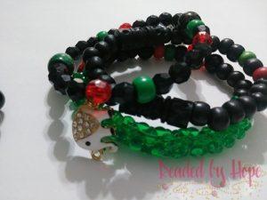 "King & Queen Edition ""Elephant Empire"" wrist bracelet."