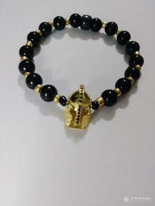 """Sparta Gold"" wrist beads"