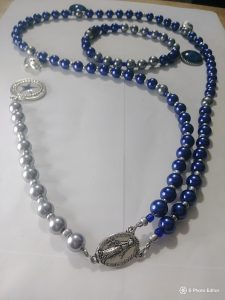 """We Dem Boyz"" Dallas Cowboys Rosary & wrist bracelet"