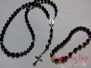 """Black Rosary"""