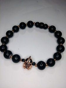 """""""Sparta"""" Rose Gold bracelet"""