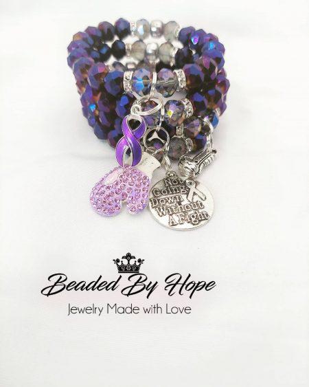 Lupus Beaded Bracelet - Beaded By Hope